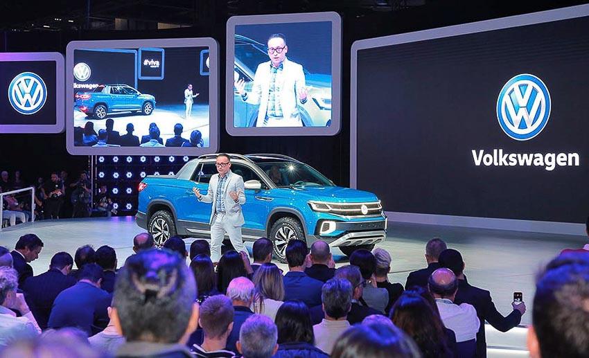 Ra mắt Volkswagen Tarok Concept