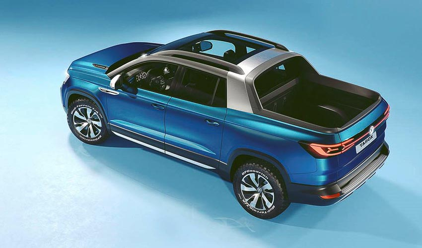 Volkswagen Tarok Concept nhìn từ trên xuống 1