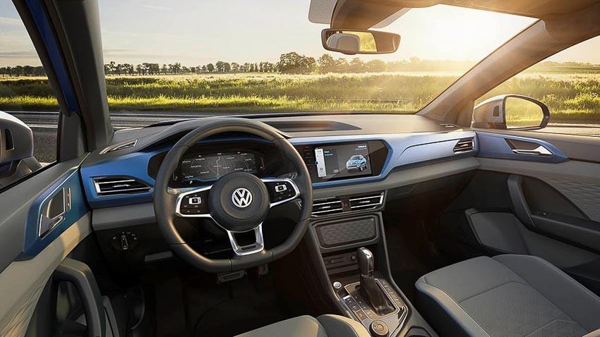 Khoang lái xe Volkswagen Tarok Concept