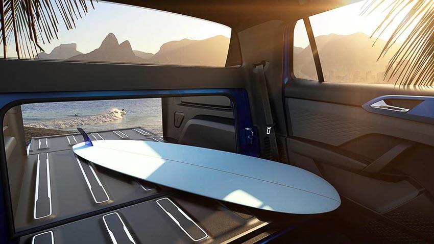 Nội thất xe Volkswagen Tarok Concept