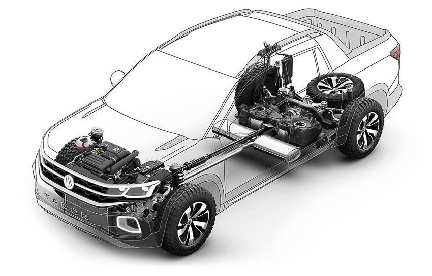 Động cơ xe Volkswagen Tarok Concept 1