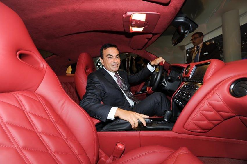 Chủ tịch hãng Nissan Carlos Ghosn 3