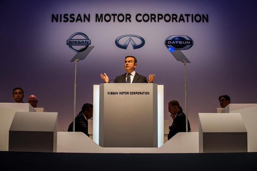 Chủ tịch hãng Nissan Carlos Ghosn 4