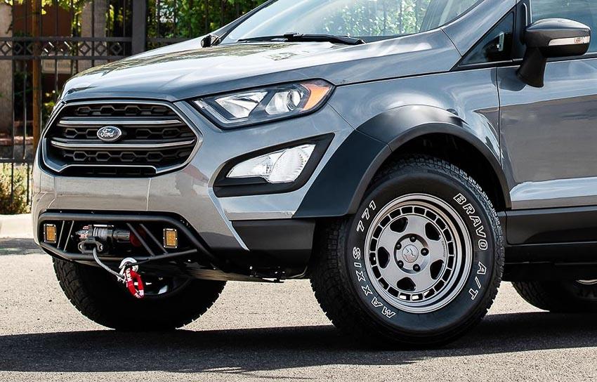 Đầu xe Ford EcoSport 2018 bản độ