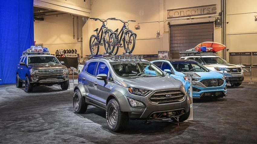 Ford EcoSport 2018 bản độ 4