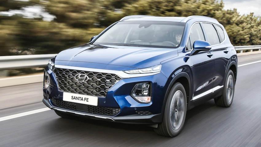 Ngoại thất Hyundai SantaFe 2019 1