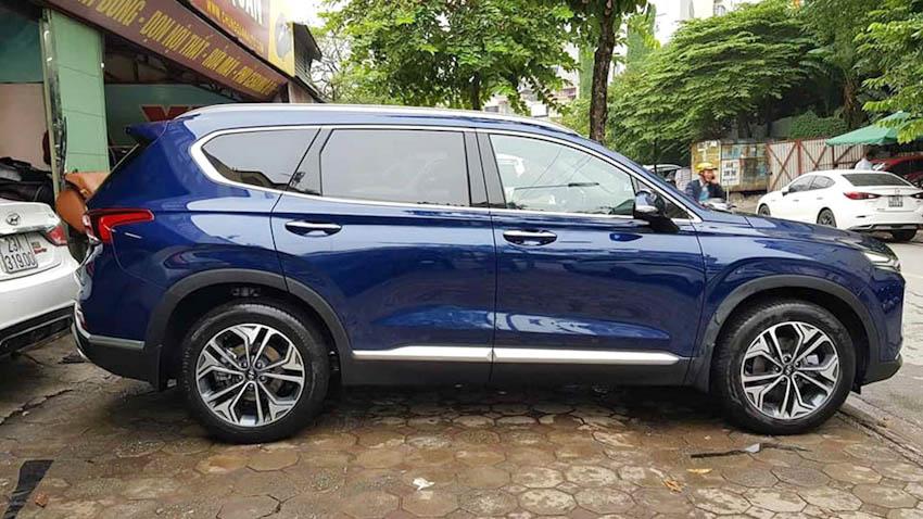 Ngoại thất Hyundai SantaFe 2019 2