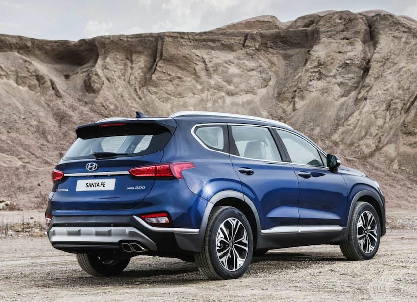Ngoại thất Hyundai SantaFe 2019 3