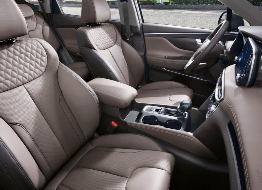 Nội thất Hyundai SantaFe 2019 1