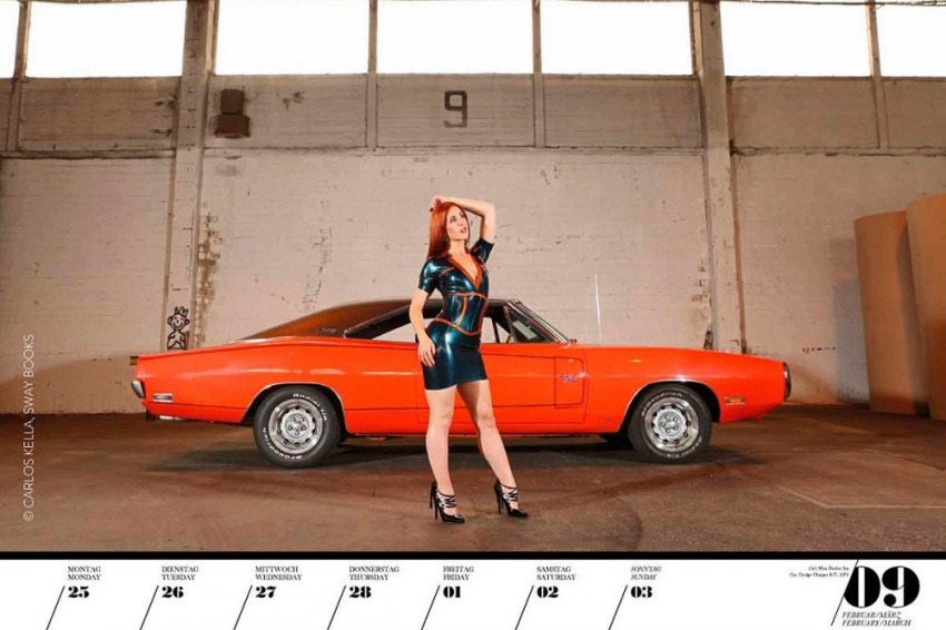 Girls & Legendary US Cars 2019