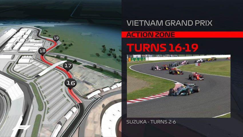 Hình ảnh mô phỏng đường đua F1 ở Mỹ Đình - Hà Nội, Việt Nam 4