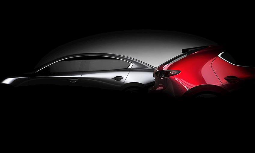 teaser chính thức của Mazda3 2019 1