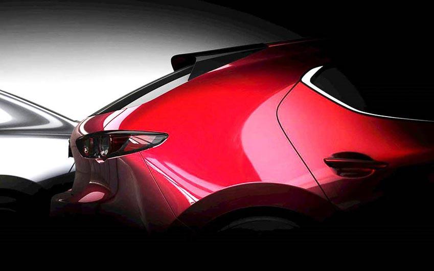 teaser chính thức của Mazda3 2019 3