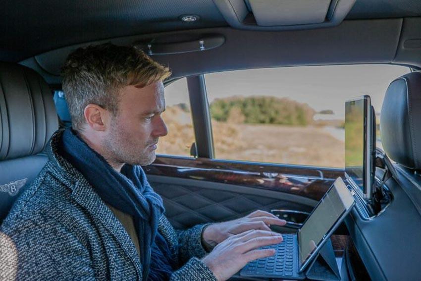 Bentley trang bị hệ thống Wi-Fi tốc độ cao 1