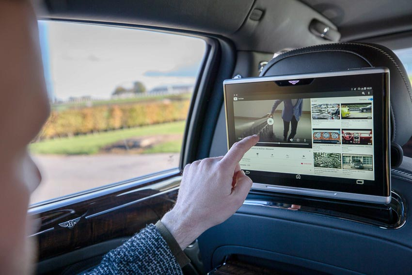Bentley trang bị hệ thống Wi-Fi tốc độ cao 3