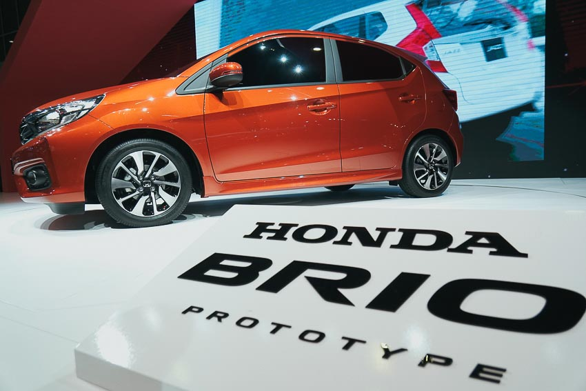 Honda- Brio 2018 1