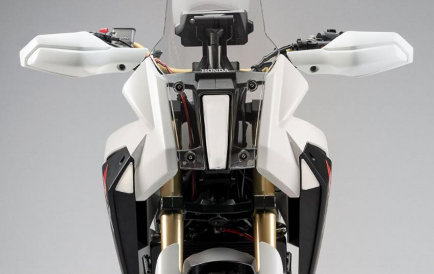 Đầu xe Honda CB125X Concept