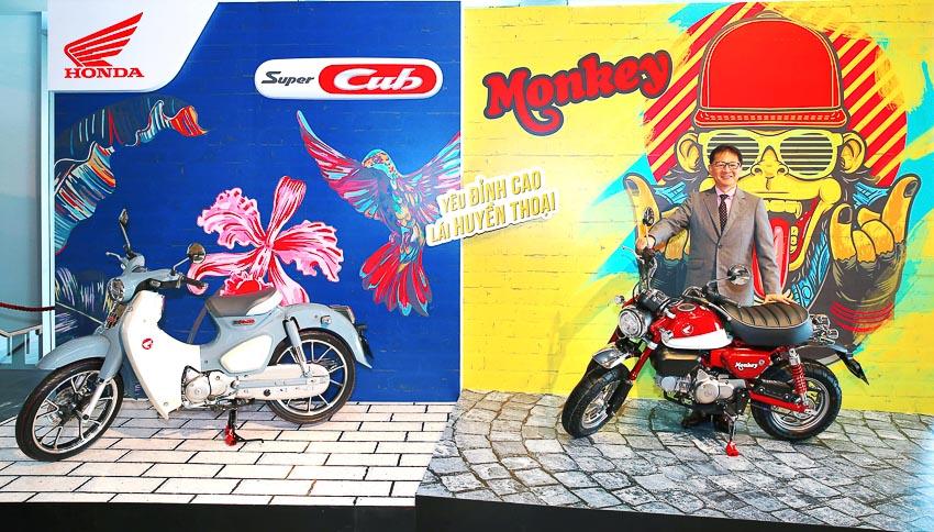 Honda Việt Nam ra mắt Monkey và Super Cub C125