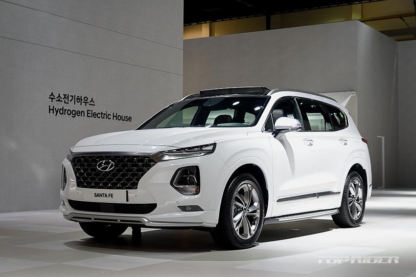 Ngoại thất Hyundai Santa Fe 2019 phiên bản Inspiration 1