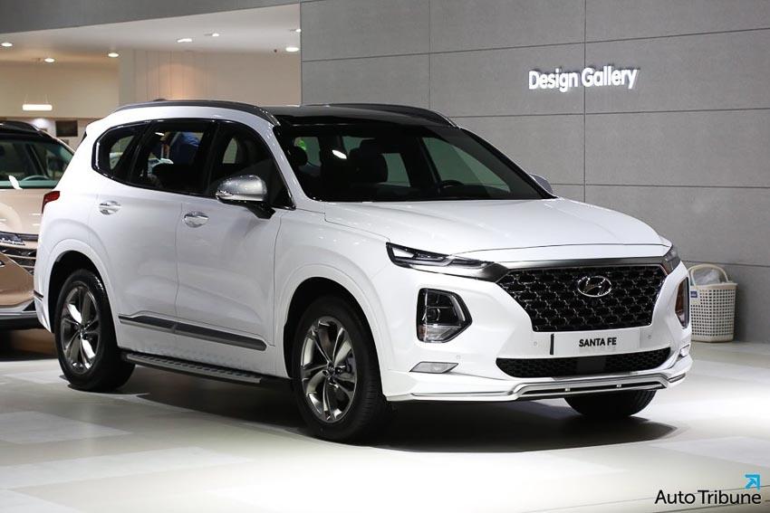 Ngoại thất Hyundai Santa Fe 2019 phiên bản Inspiration 3