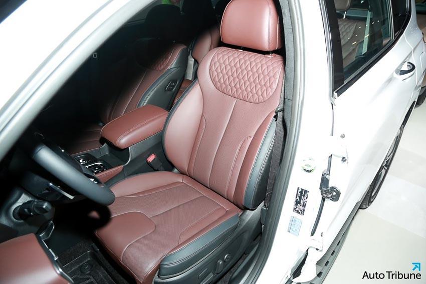 Nội thất Hyundai Santa Fe 2019 phiên bản Inspiration 3