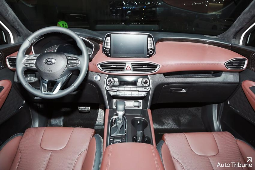 Nội thất Hyundai Santa Fe 2019 phiên bản Inspiration 1