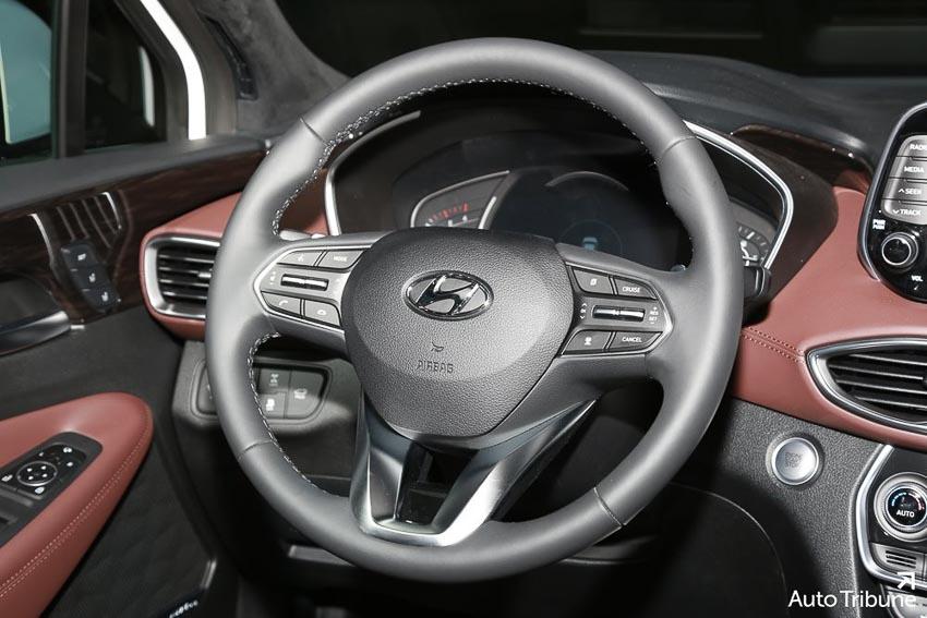 Nội thất Hyundai Santa Fe 2019 phiên bản Inspiration 5