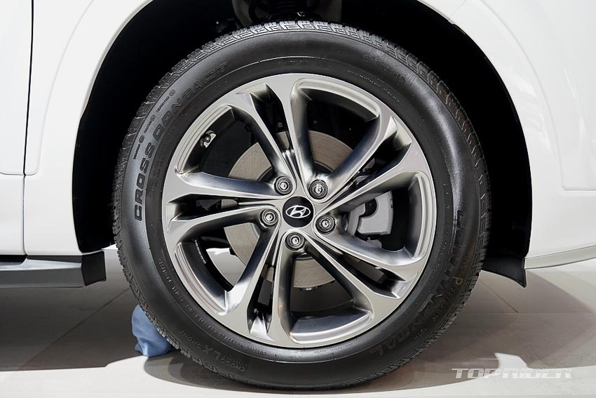 Mâm xe Hyundai Santa Fe 2019 phiên bản Inspiration