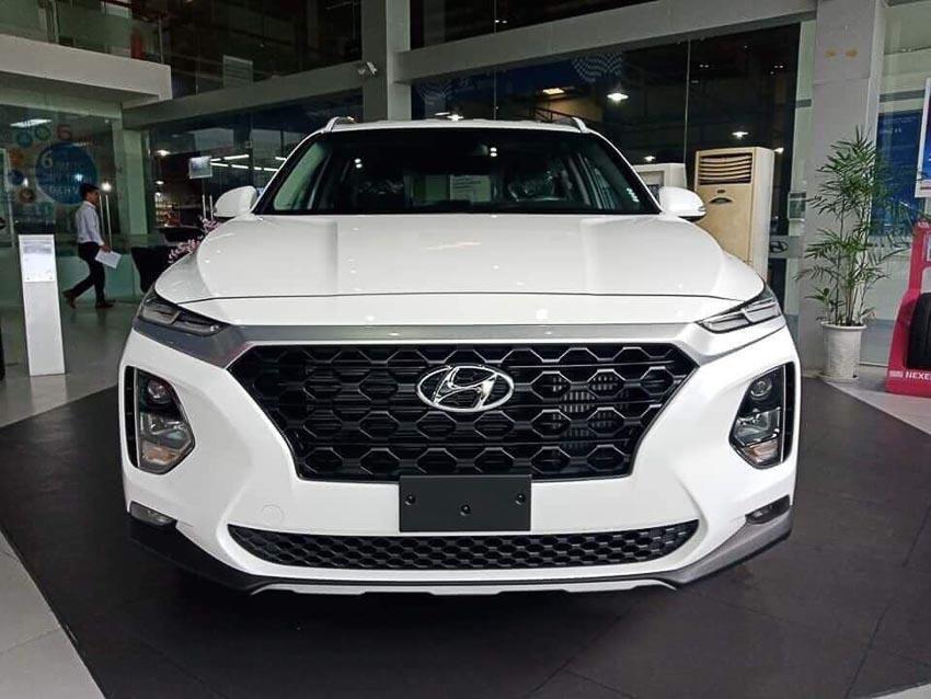 Hyundai SantaFe 2019 bản máy dầu tiêu chuẩn 1