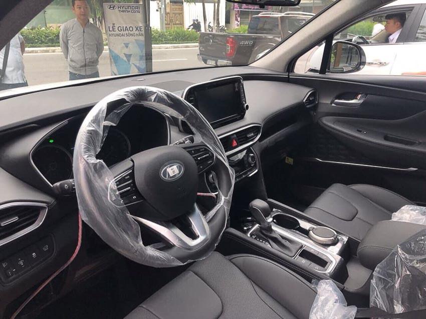Hyundai SantaFe 2019 bản máy dầu tiêu chuẩn 4