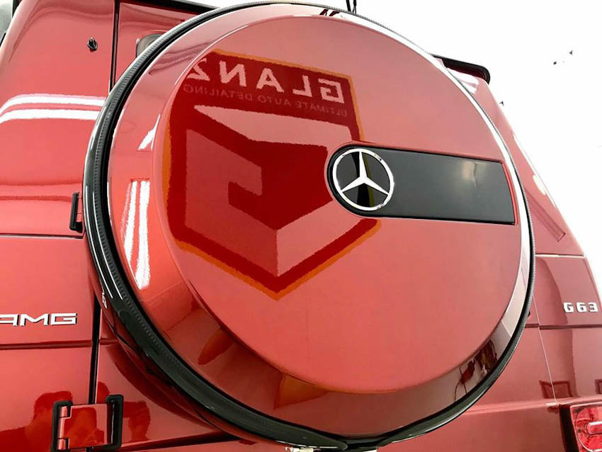 Mercedes-Benz G63 AMG Tomato Red 4