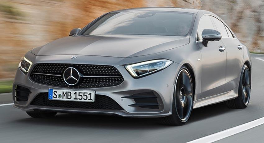 Phần đầu xe Mercedes CLS 2019 1