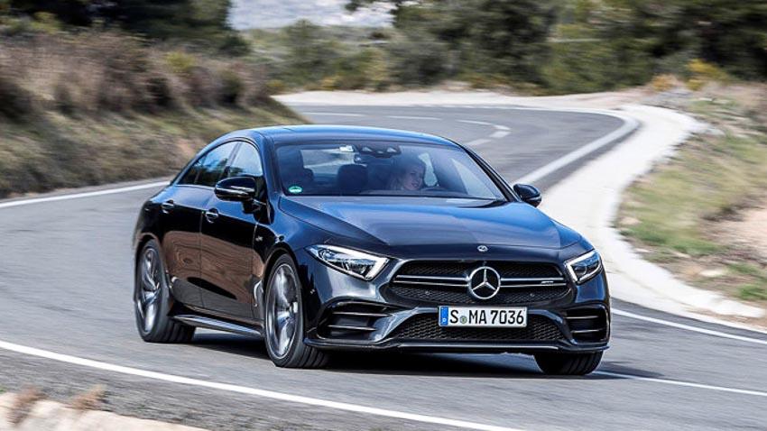 Phần đầu xe Mercedes CLS 2019 2