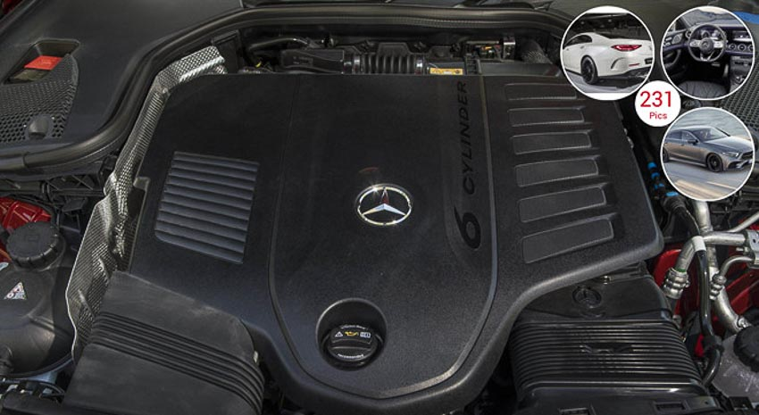 Động cơ xe Mercedes CLS 2019