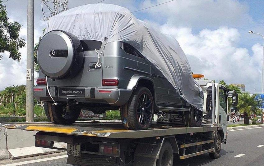 Mercedes G63 Edition 1 đầu tiên lộ diện trên đường phố Việt Nam 1