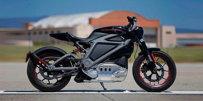 mô tô điện Harley-Davidson LiveWire 1