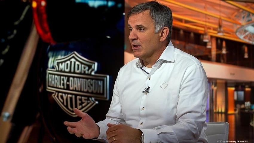Matt Levatich - Chủ tịch kiêm Giám đốc điều hành của Harley-Davidson