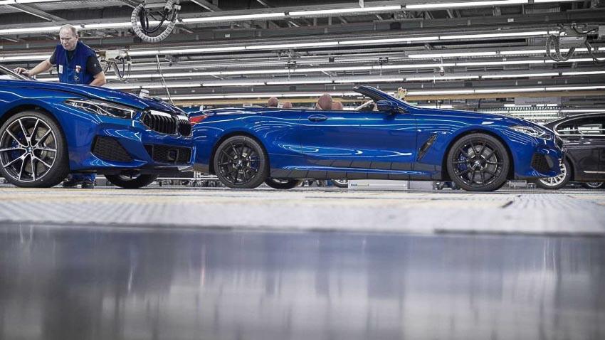 Thân xe BMW 8 Series Convertible 2019