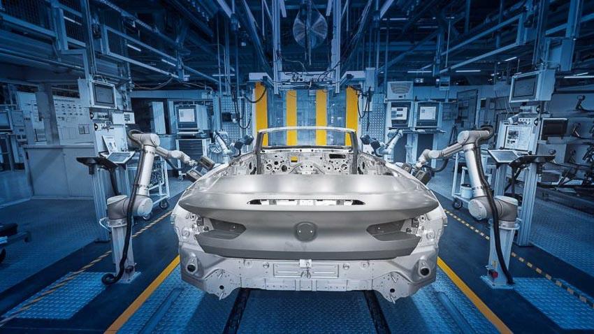 BMW 8 Series Convertible 2019 lên dây chuyền sản xuất 2
