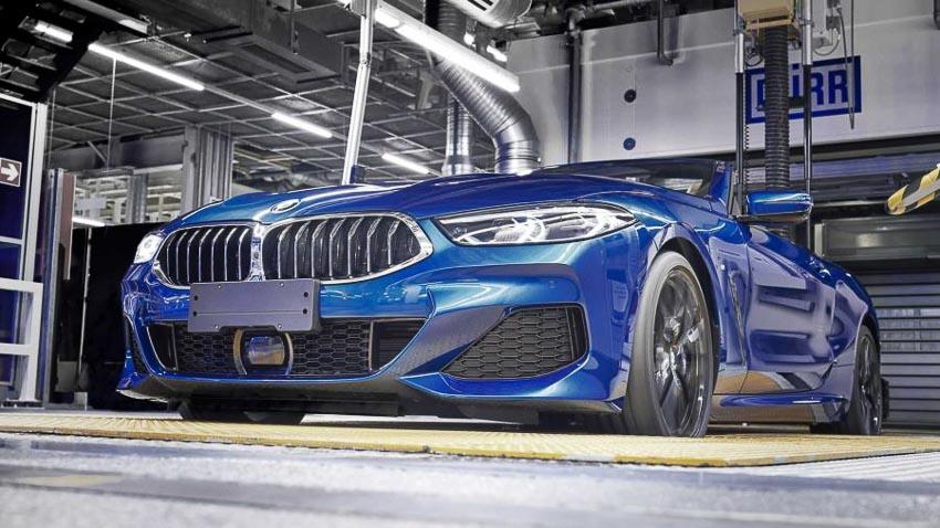 Phần đầu xe BMW 8 Series Convertible 2019 2
