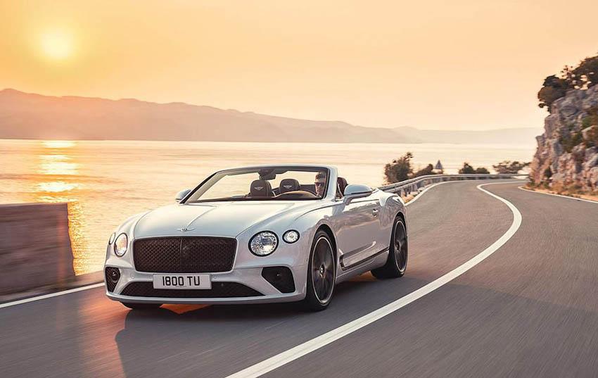 Bentley Continental GT Convertible 1