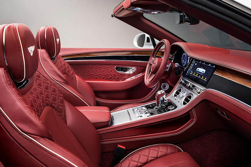 Bentley Continental GT Convertible 11