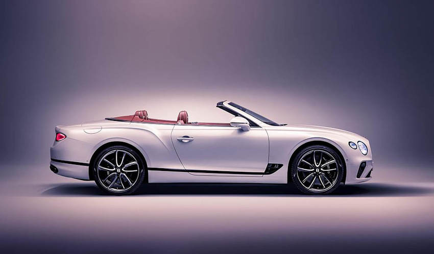 Bentley Continental GT Convertible 21