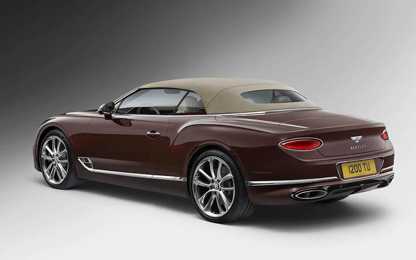 Bentley Continental GT Convertible 25