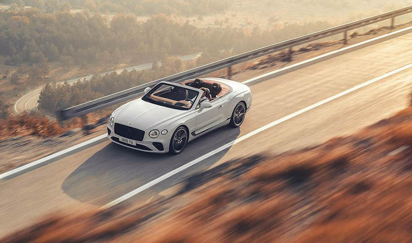 Bentley Continental GT Convertible 26