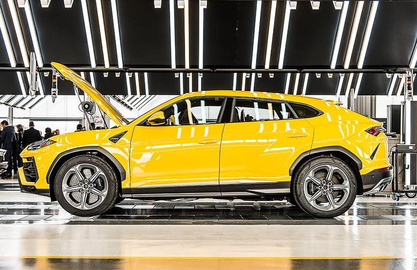 nhà máy sản xuất siêu SUV Lamborghini URUS 13