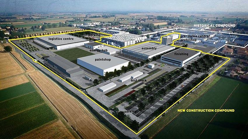nhà máy sản xuất siêu SUV Lamborghini URUS 20