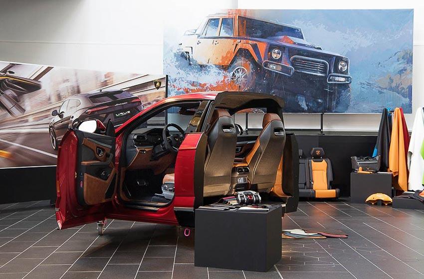 nhà máy sản xuất siêu SUV Lamborghini URUS 21