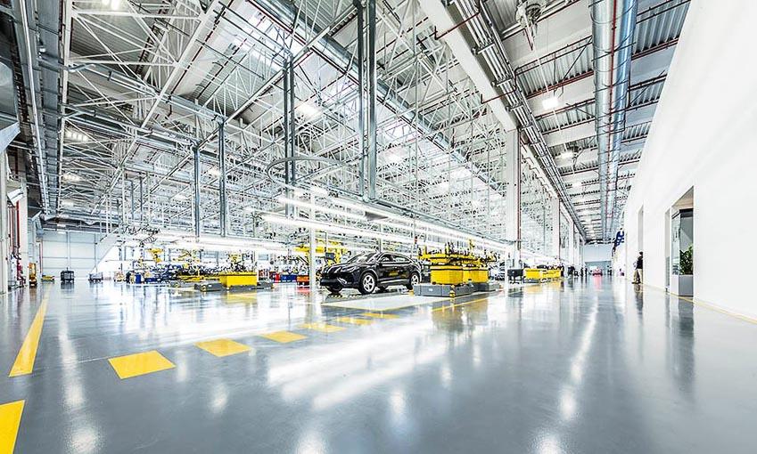 nhà máy sản xuất siêu SUV Lamborghini URUS 23