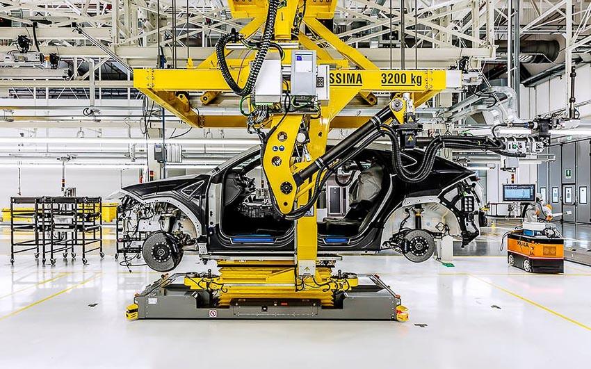 nhà máy sản xuất siêu SUV Lamborghini URUS 25